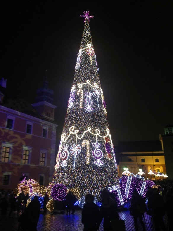Christmas tree at the Royal Castle