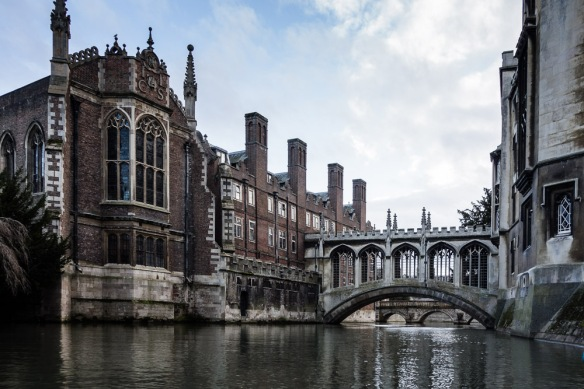 St Johns college version of the Bridge of Sighs