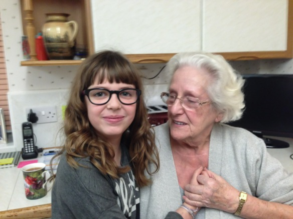 Zosia and grandma