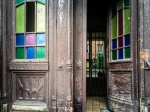 Old door near the Sejm