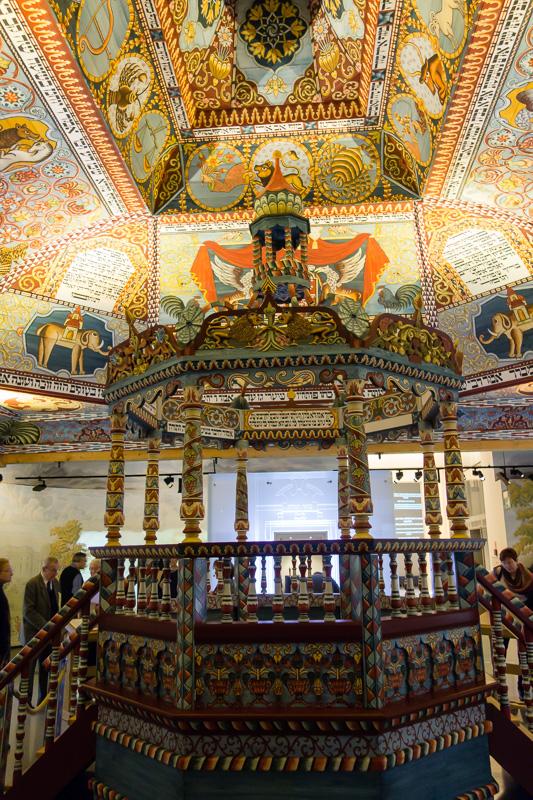 Inside synagog