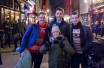 Stars of Jersey Boys with Zosia