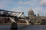 Millennium Bridge & St Pauls